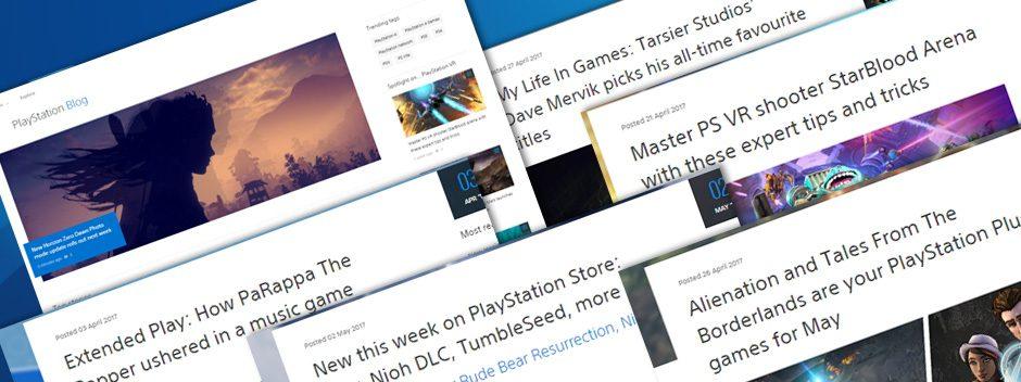 Ecco a voi il nuovo look del Blog PlayStation