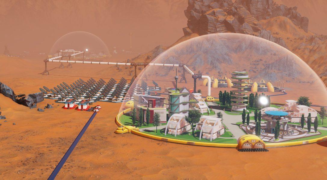 Cimentatevi con la gestione di colonie interplanetarie in Surviving Mars per PS4