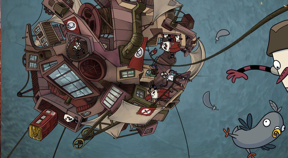 """Ecco come un semplice piccione è diventato il protagonista del gioco di avventura per PS4 """"The Inner World"""""""