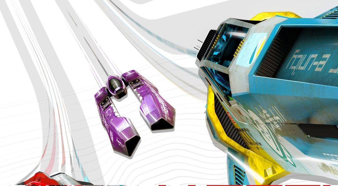 Svelata la colonna sonora completa di WipEout Omega Collection