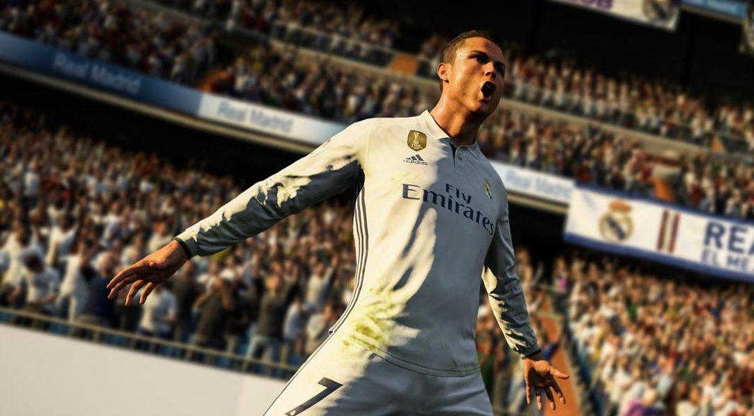 Annunciato FIFA 18, rappresentato da Cristiano Ronaldo