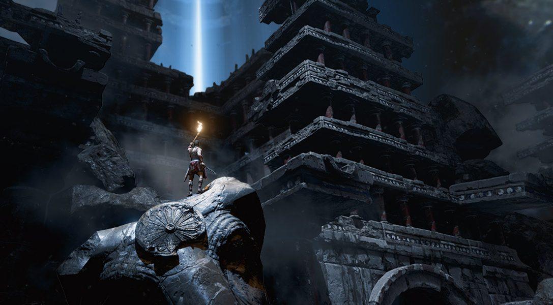 Scappa dal labirinto e da uno spettrale minotauro in Theseus per PS VR.