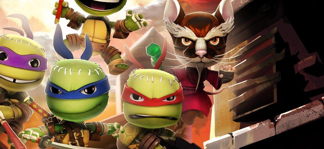 LittleBigPlanet 3: Pack costumi Nemici delle Tartarughe Ninja in arrivo questa settimana
