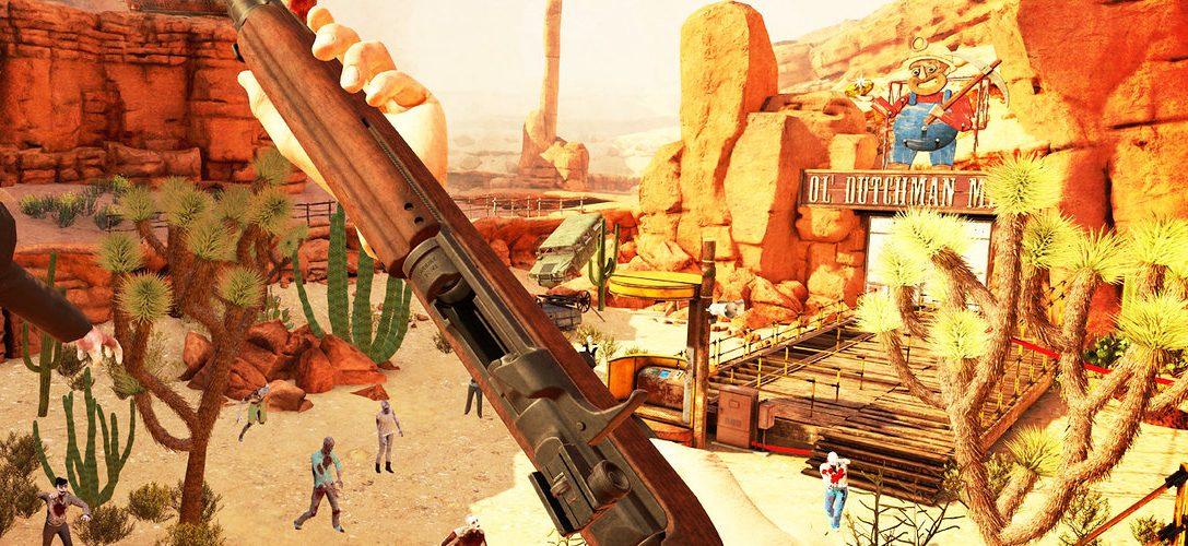 Arizona Sunshine, il nuovo sparatutto zombie per PS VR, disponibile da domani con il 10% di sconto per i membri PS Plus