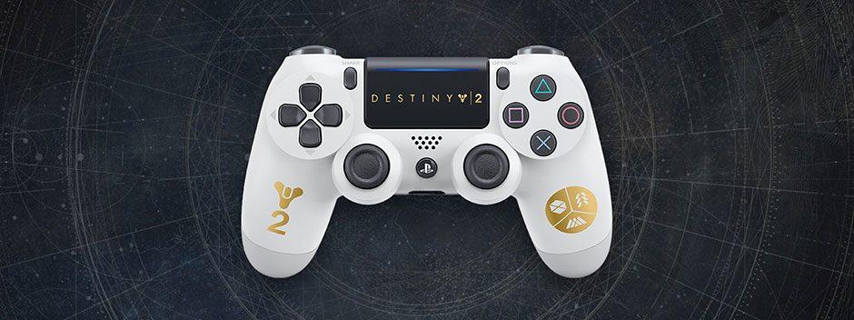 Annunciato un controller wireless DUALSHOCK 4 di Destiny 2 in edizione limitata