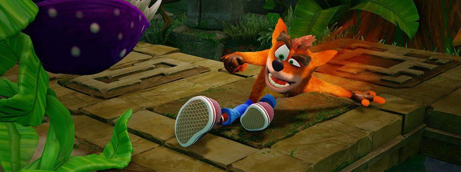 Crash Bandicoot The N.Sane Trilogy è il più venduto di giugno del PlayStation Store