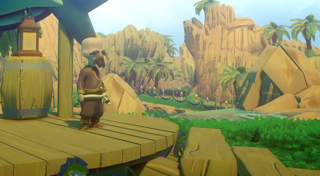 Perché mai quelli di Prideful Sloth hanno abbandonato una vita da sviluppatori AAA per creare Yonder: The Cloud Catcher Chronicles per PS4?