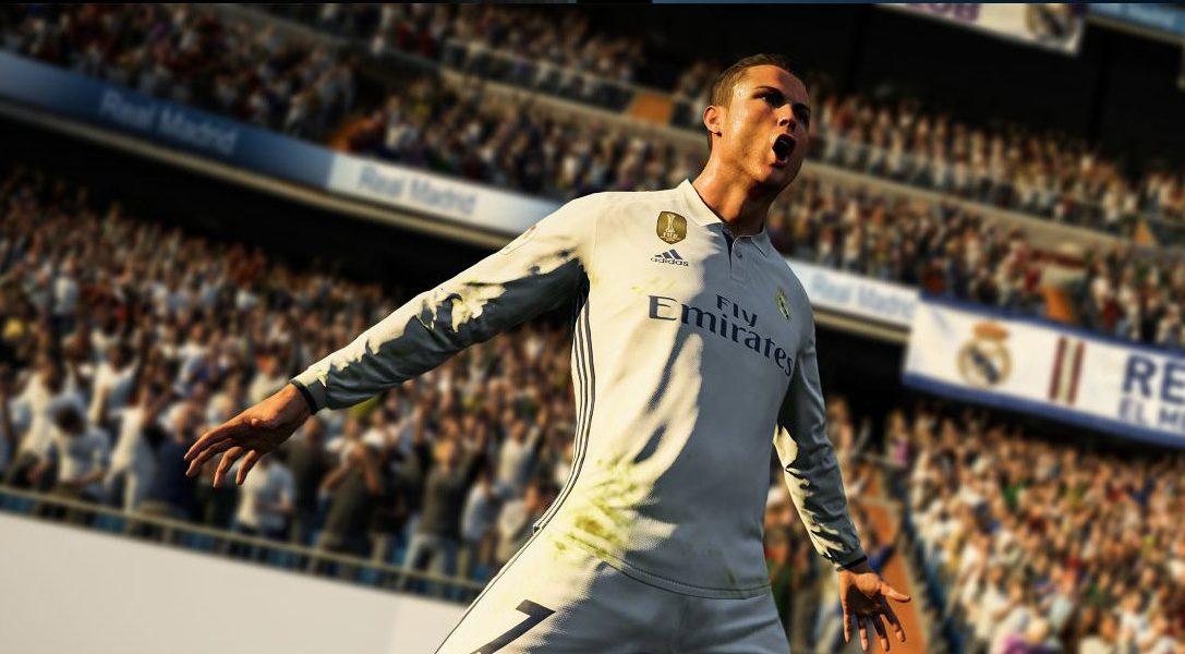 Annunciamo la selezione di confezioni PlayStation 4 di FIFA 18, disponibili dal 29 settembre