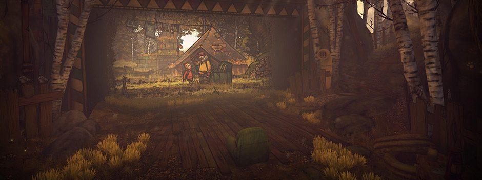 Il cinematografico platform 2D The Lost Bear arriva su PS VR queste mese