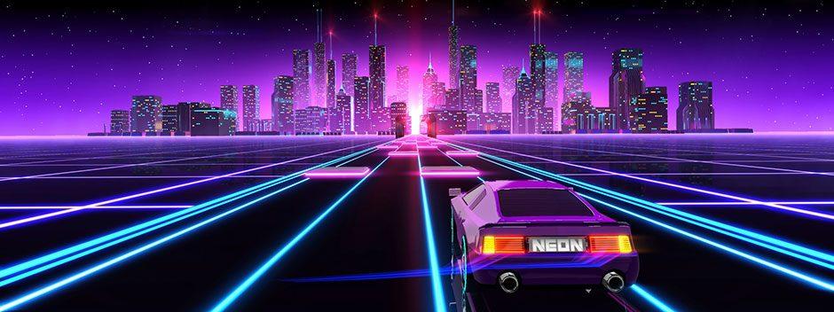La corsa senza fine con infusione anni 80 e il Synthwave di Neon Drive arrivano su PS4 la prossima settimana.