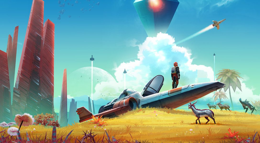 L'Ascesa dell'Atlante di No Man's Sky vi porta oggi una nuova storia, un'esplorazione condivisa e molto altro
