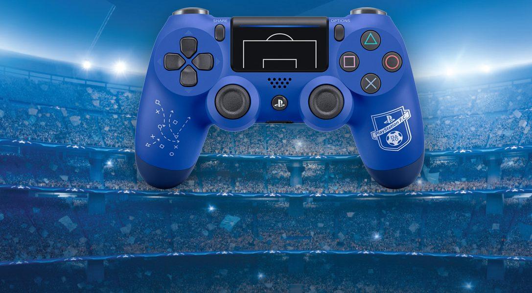 Nuovo controller wireless DUALSHOCK 4 PlayStation F.C. in edizione limitata