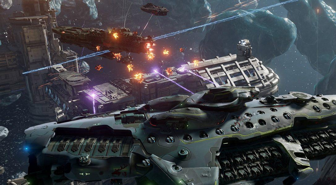 Nuovo trailer per lo sci-fi per PS4 Dreadnought in vista della beta aperta che inizierà oggi