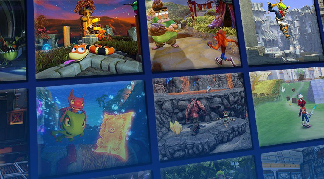 Qual è il vostro platform 3D per PlayStation preferito tra questi 16?