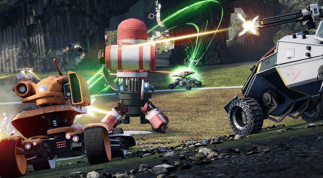 Gli autori di Blur e Geometry Wars ritornano con il combattimento multigiocatore nei veicoli di Switchblade su PS4
