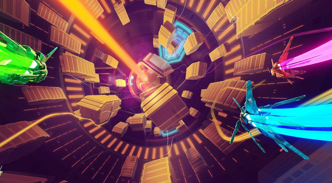 La creazione delle piste multidirezionali di Lightfield, il gioco di corse fantascientifico per PS4, in arrivo il 26 settembre