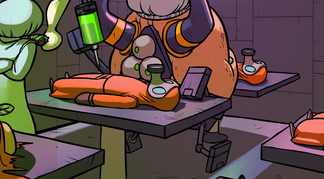 Splasher, l'ultima creazione 2D del progettista di Rayman Origins, sarà disponibile per PS4 la settimana prossima