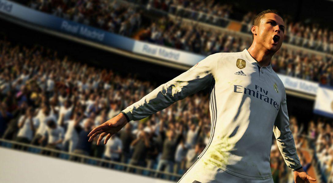 La demo di FIFA 18 arriva su PS4 oggi, 12 settembre