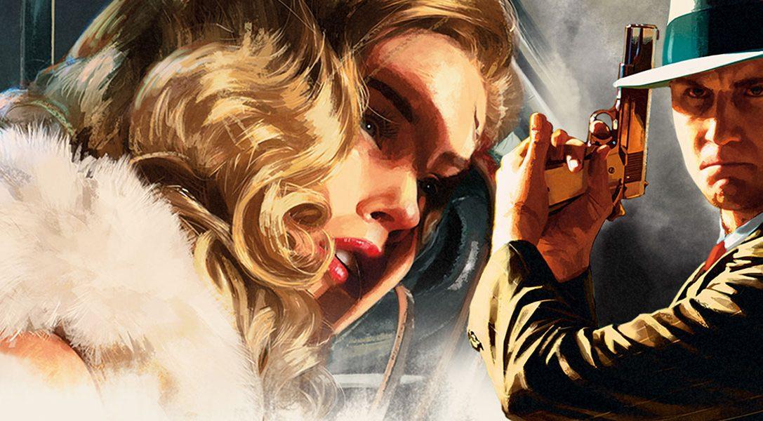 Il crime thriller open-world di Rockstar L.A. Noire arriva su PS4 a novembre