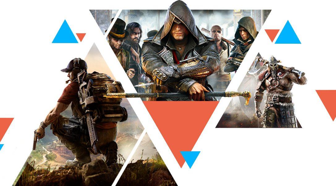 Giochi a meno di €5 e sconti sui titoli Ubisoft arrivano oggi su PlayStation Store