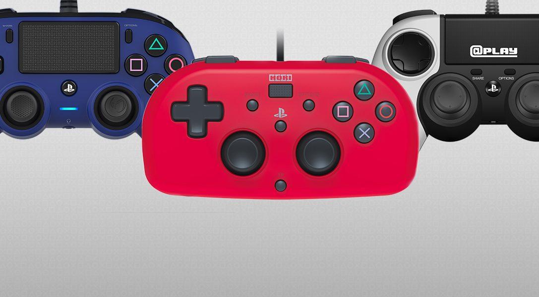Un primo sguardo ai nuovi controller compatti con licenza ufficiale e al mini gamepad per PS4