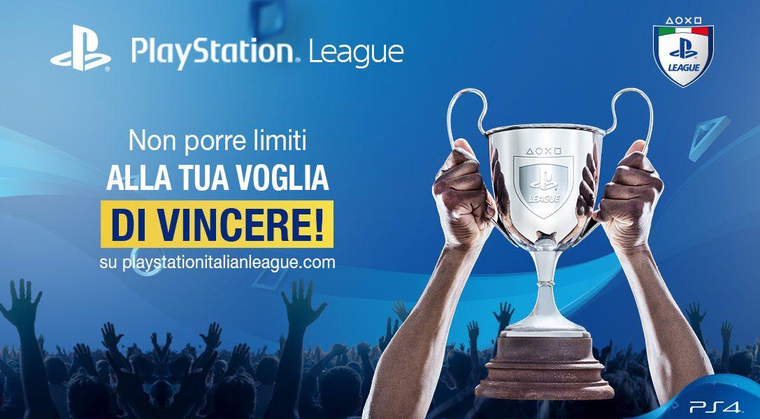 Ecco i nuovi tornei di PlayStation Italian League di ottobre!
