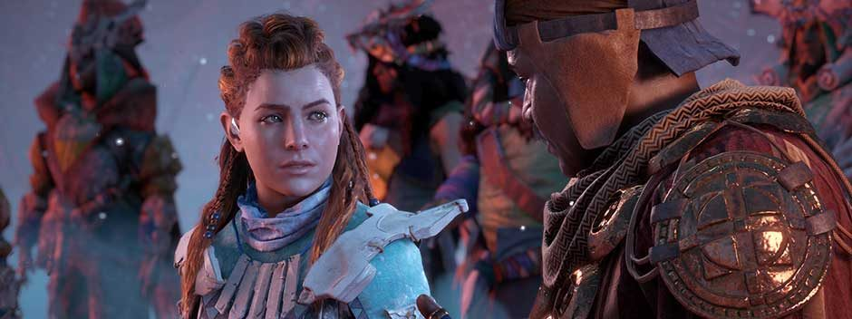 Guardate 12 minuti di gioco di Horizon Zero Dawn: The Frozen Wilds