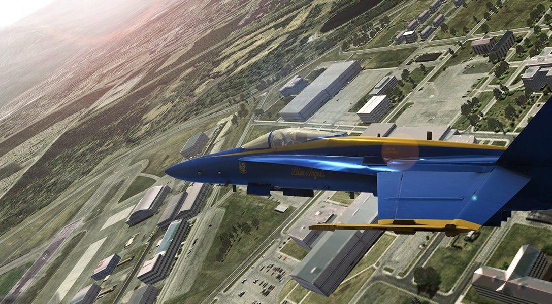 Ecco come un fan dell'aviazione ha collaborato con la Marina Statunitense per creare Blue Angels Flight Simulator per PS4