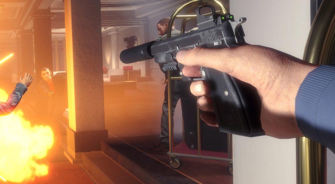 Ecco come Blood and Truth, l'esplosivo sparatutto d'azione per PS VR, riunisce il meglio di John Wick, James Bond e John McClane