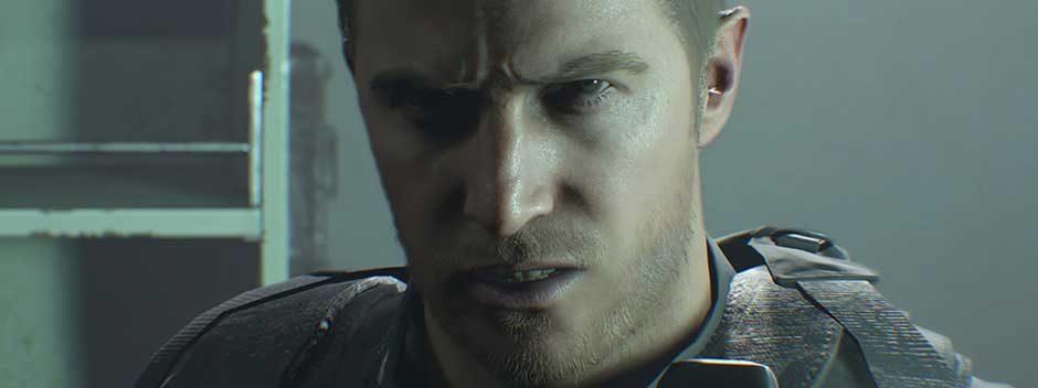 La creazione del personaggio di Chris Redfield nel DLC Not a Hero di Resident Evil 7, in uscita domani, raccontata dal suo creatore