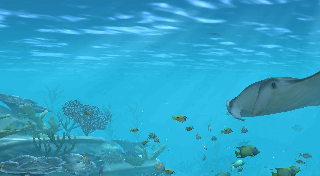 Trasformate il vostro sistema PS4 e la vostra TV in un acquario degno di un supercattivo con Aqua TV