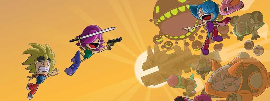 Correte e sparate nel frenetico sparatutto Bleed 2, in uscita su PS4 la prossima settimana