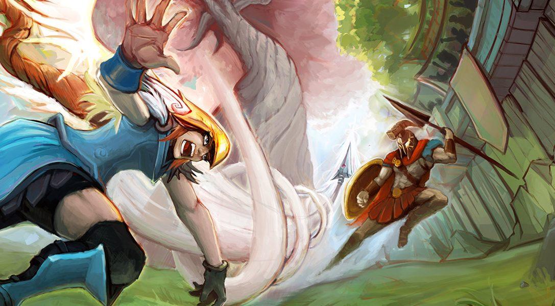 Towerfall si unisce al dodgeball nel gioco fantasy multigiocatore per PS4 Strikers Edge, in uscita il 31 gennaio