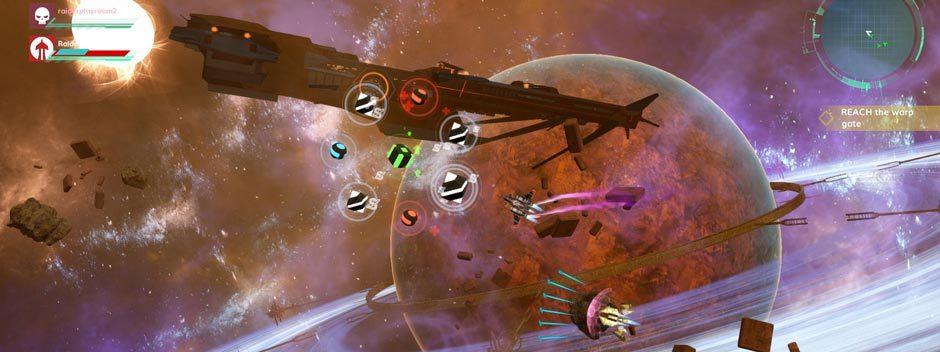Combattete per il bottino migliore nello sparatutto arcade fantascientifico RiftStar Raiders, in uscita su PS4 la prossima settimana