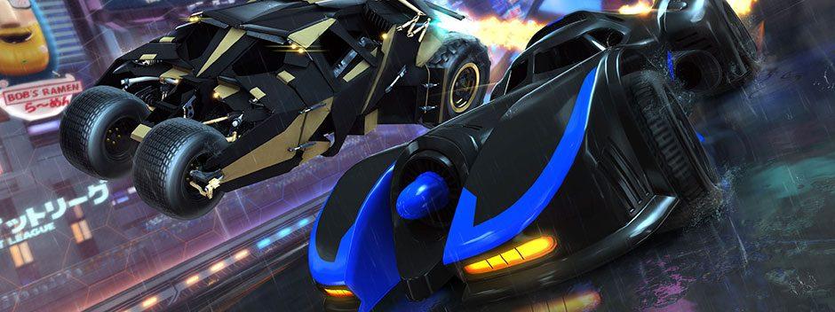 La Justice League arriva su Rocket League per PS4 il 5 marzo