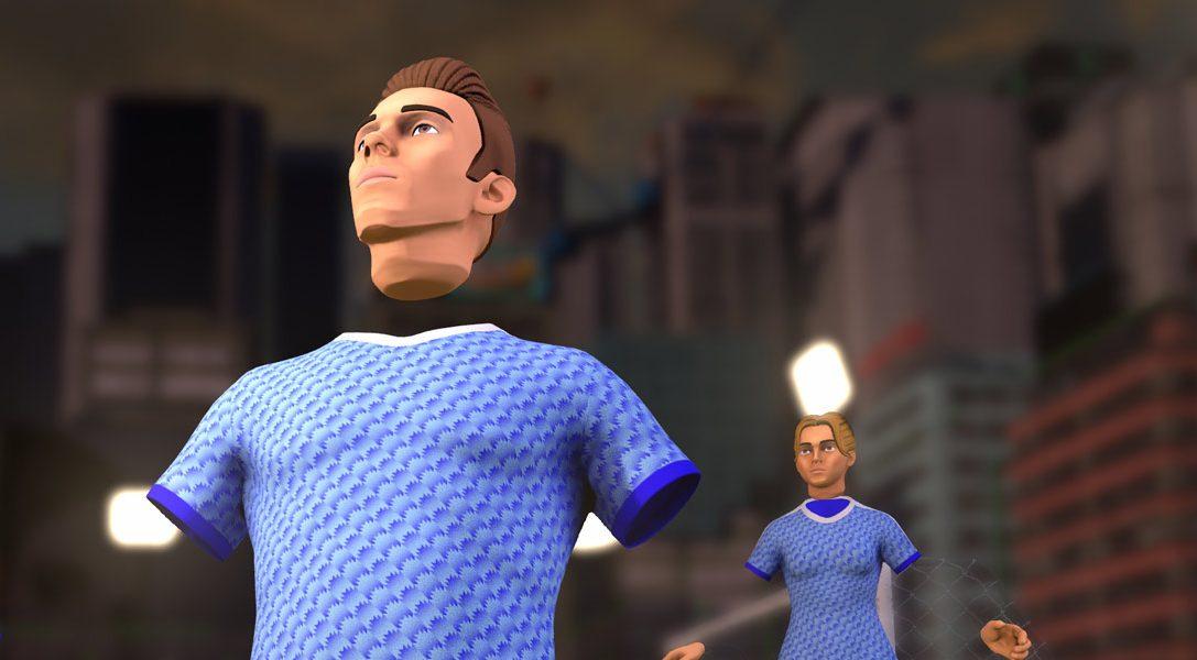 Il 27 febbraio, VRFC porterà il calcio a 8 su PS VR