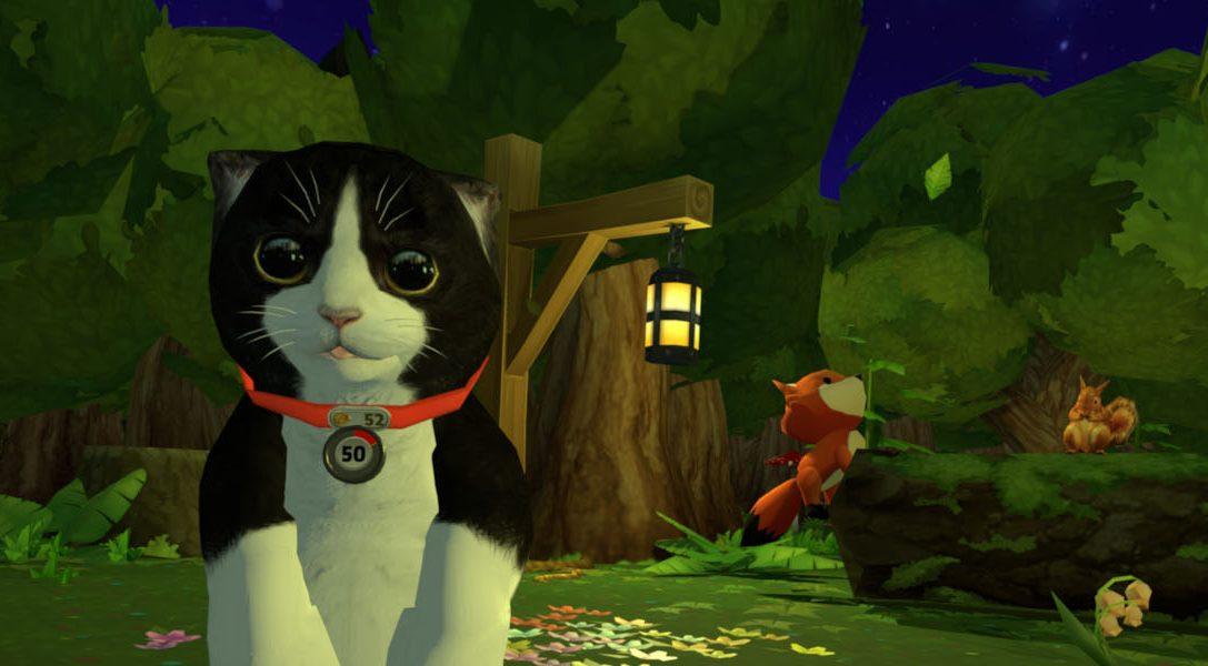 Prenditi cura di un gatto virtuale con Konrad the Kitten per PS VR, in uscita il 23 febbraio