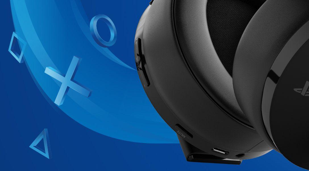 Ti presentiamo le nuove Cuffie wireless con microfono Gold per PS4 e PS VR, presto in arrivo in Europa