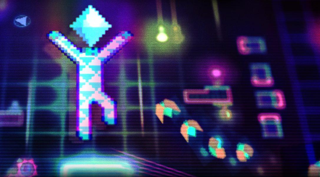 Lo psichedelico gioco di piattaforme in verticale Octahedron arriverà su PS4 il mese prossimo