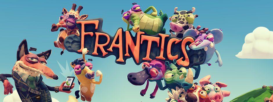 Pugnala i tuoi amici alle spalle nel divertentissimo gioco multigiocatore per PlayLink Frantics, in uscita il 7 marzo