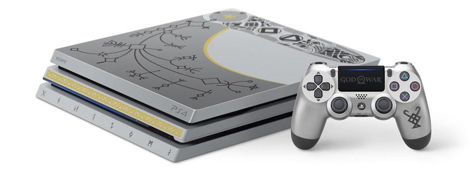Ti presentiamo il pacchetto PS4 Pro in edizione limitata di God of War