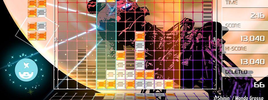 Lumines Remastered è in arrivo su PS4 a maggio