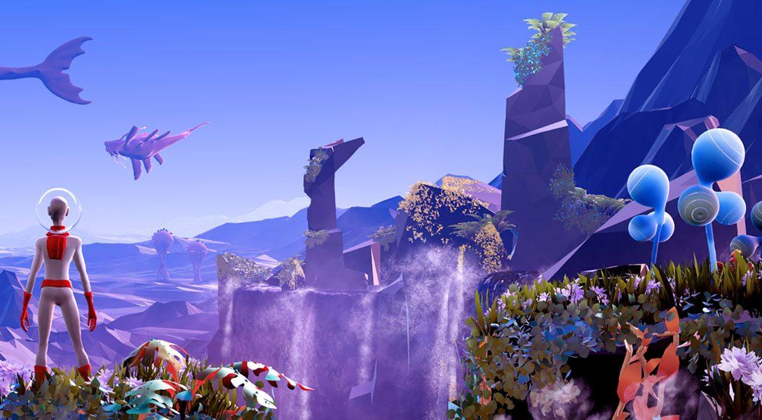 Esplorate un mondo alieno alterando il tempo a piacimento nello stupendo platform Planet Alpha