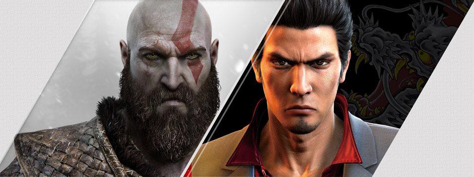 God of War a Yakuza 6 sono i titoli di punta tra le uscite del PlayStation Store di questa settimana