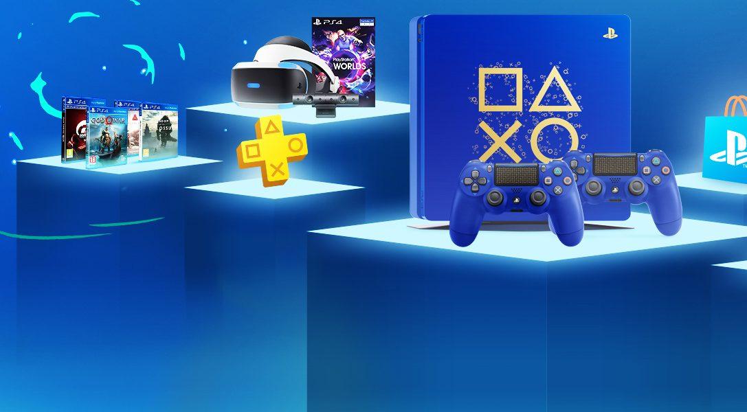 Days of Play torna con 11 giorni di grandi sconti e una nuova console PS4 in edizione limitata