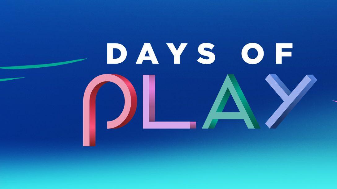 La promozione Days of Play 2018 inizia oggi