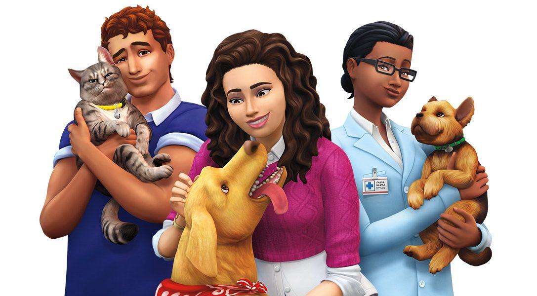 Personalizza gli animali da compagnia e addomestica i non-morti a quattro zampe nell'espansione di The Sims 4 Cani & Gatti