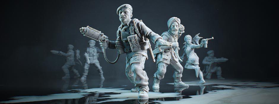 La Guerra Mondiale e il soprannaturale si fondono nel gioco di strategia a turni Achtung! Cthulhu Tactics, in arrivo su PS4