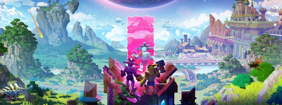 Un'ambiziosa avventura per la costruzione del mondo, Boundless ha una data di uscita per PS4 e un nuovo trailer