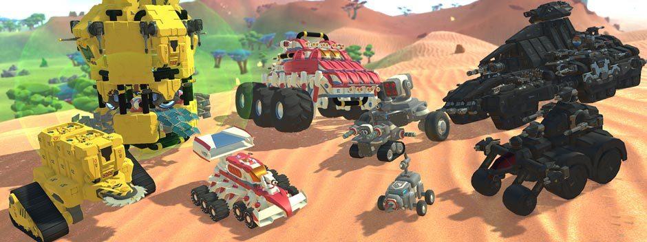 Costruite macchine, aerei e altri mezzi e combattete contro gli amici in TerraTech, in uscita su PS4 il 14 agosto